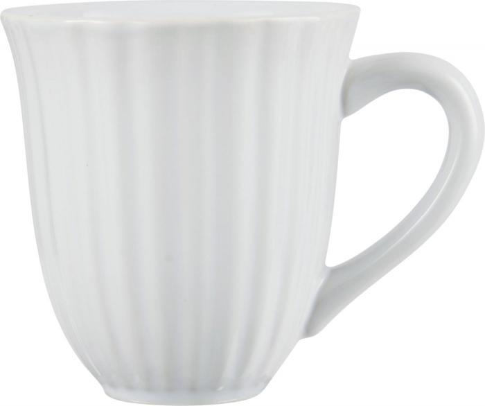 Mynte Kaffemugg - Vit - Nostalgiska.se