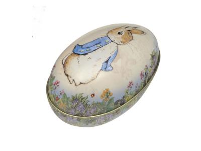 Påskägg Plåt Peter Rabbit av Beatrix potter - Nostalgiska.se