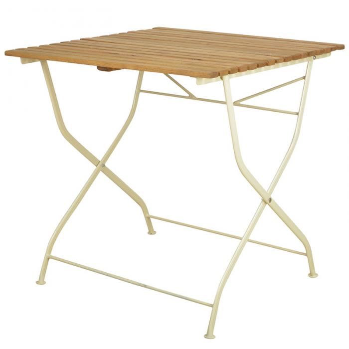 Trädgårdsbord gammeldags ihopfällbar - Nostalgiska.se