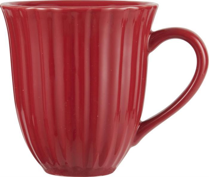 Mynte Kaffemugg - Röd - Nostalgiska.se