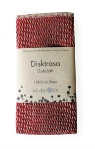 Växbo Lin Disktrasa Röd - Nostalgiska.se