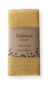 Växbo Lin Disktrasa gul - Nostalgiska.se