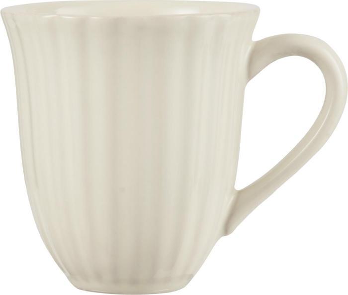 Mynte Kaffemugg - Creme - Nostalgiska.se