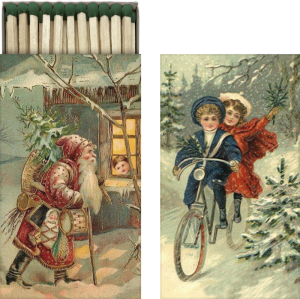 Tändsticksask - Julmotiv - Nostalgiska.se