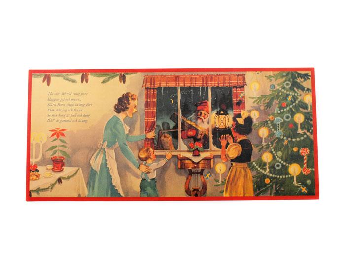 Julbonad Julen klappar på - Nostalgiska.se