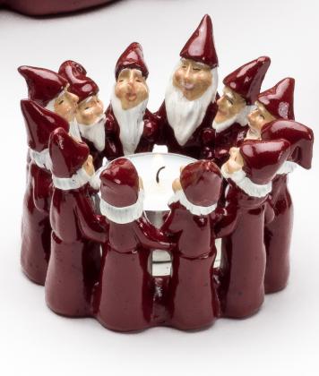 Tomtering julljusstake liten - Nostalgiska.se
