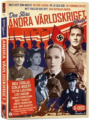 Den stora andra världskriget boxen (6-disk) - Nostalgiska.se