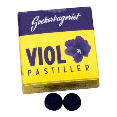 Viol tablettask - Nostalgiska.se